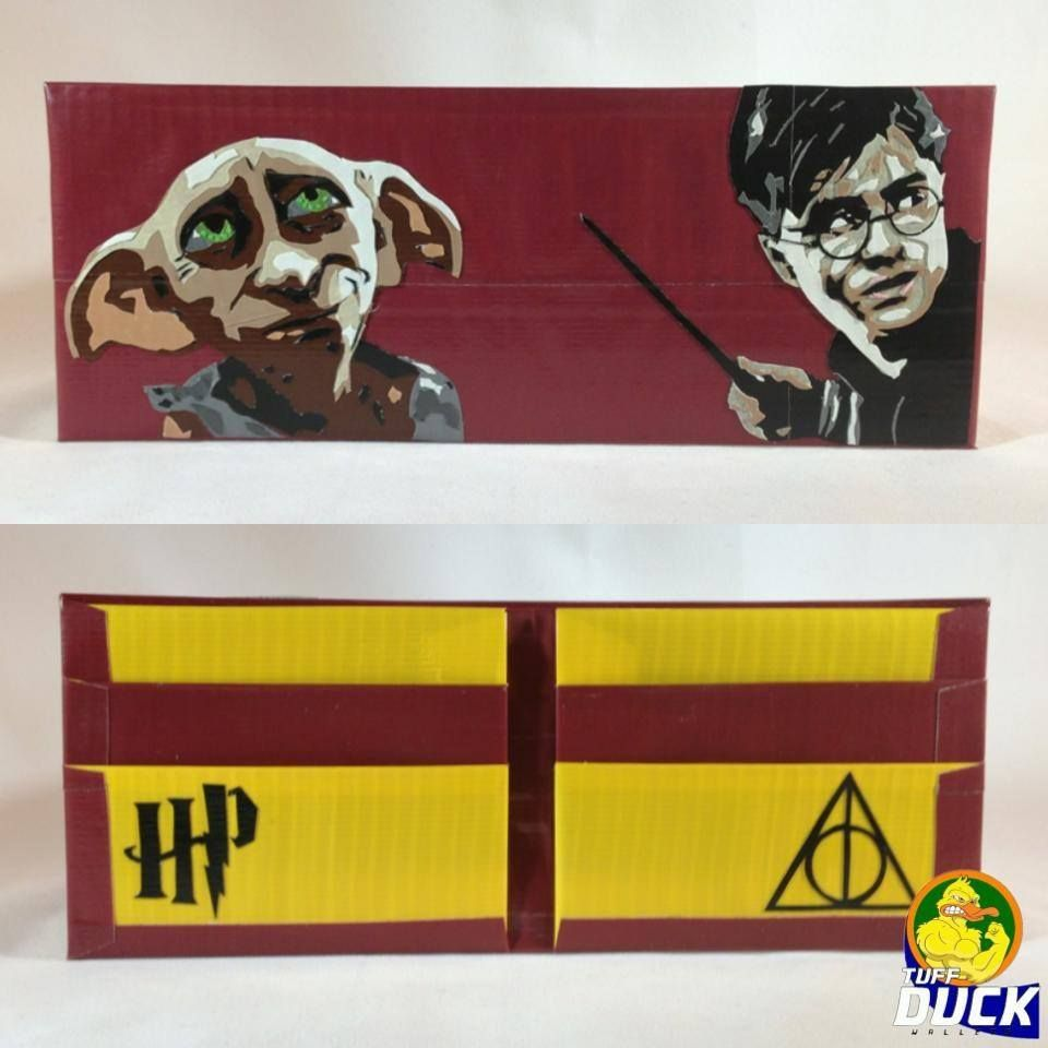Harry Potter Duck Tape Wallet It S Not So Much The Wallet