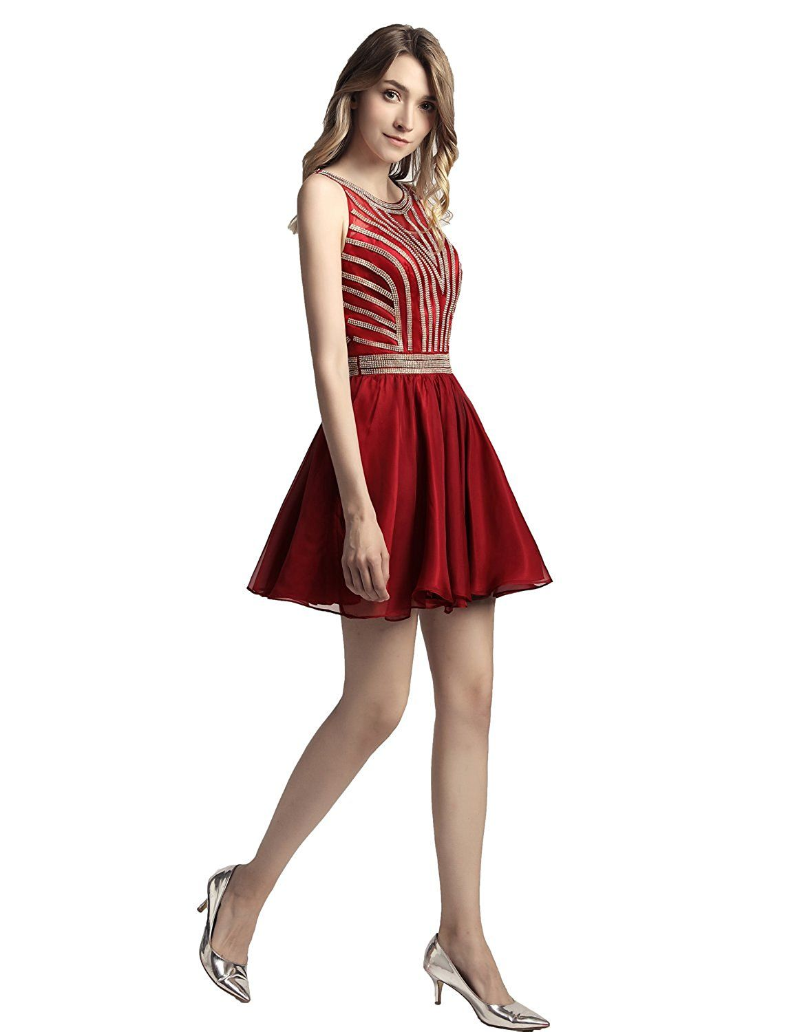 Amazon belle house chiffon homecoming dresses for juniors