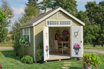 Beau Williamsburg Colonial Garden Shed | Shed Kit | Storage Shed  Buy Directly  From The