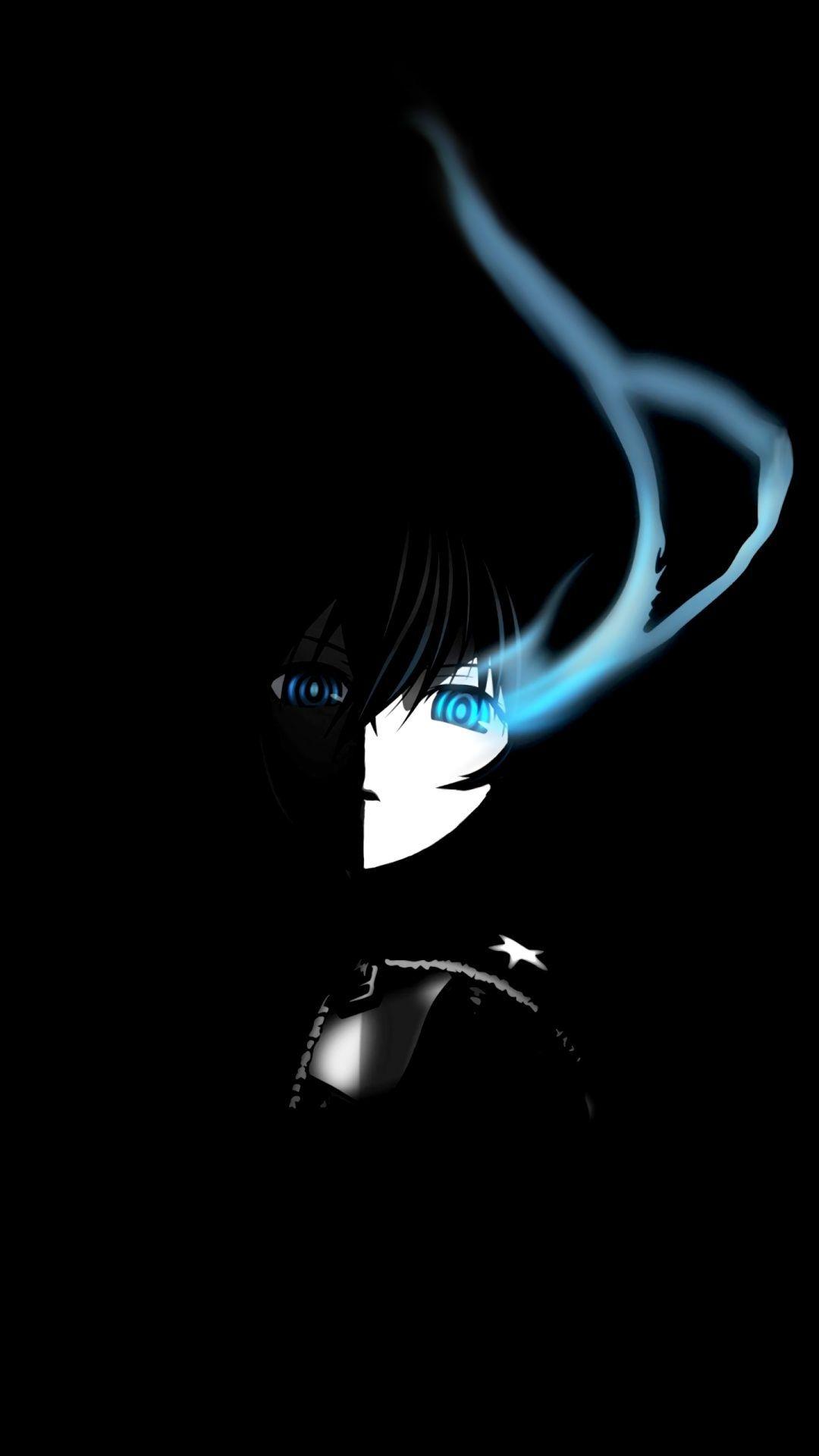 3d Animation Background Image Black Rock Shooter Anime Wallpaper Black Wallpaper