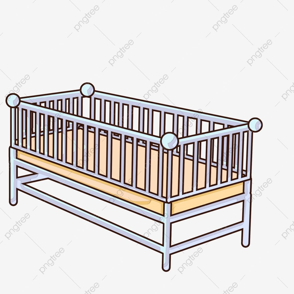 Cot Clipart Ideas In 2021 Metal Crib Mini Crib Baby Bed