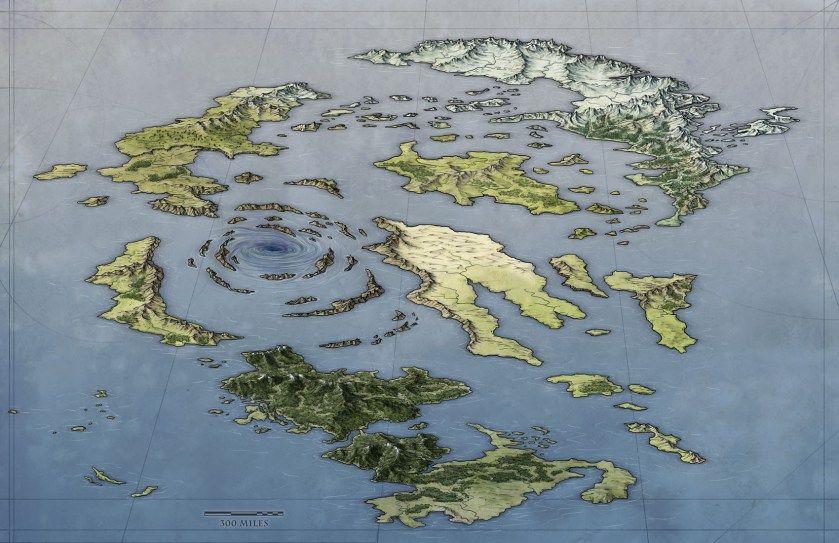 Island Map | Dnd | Fantasy world map, Fantasy map making