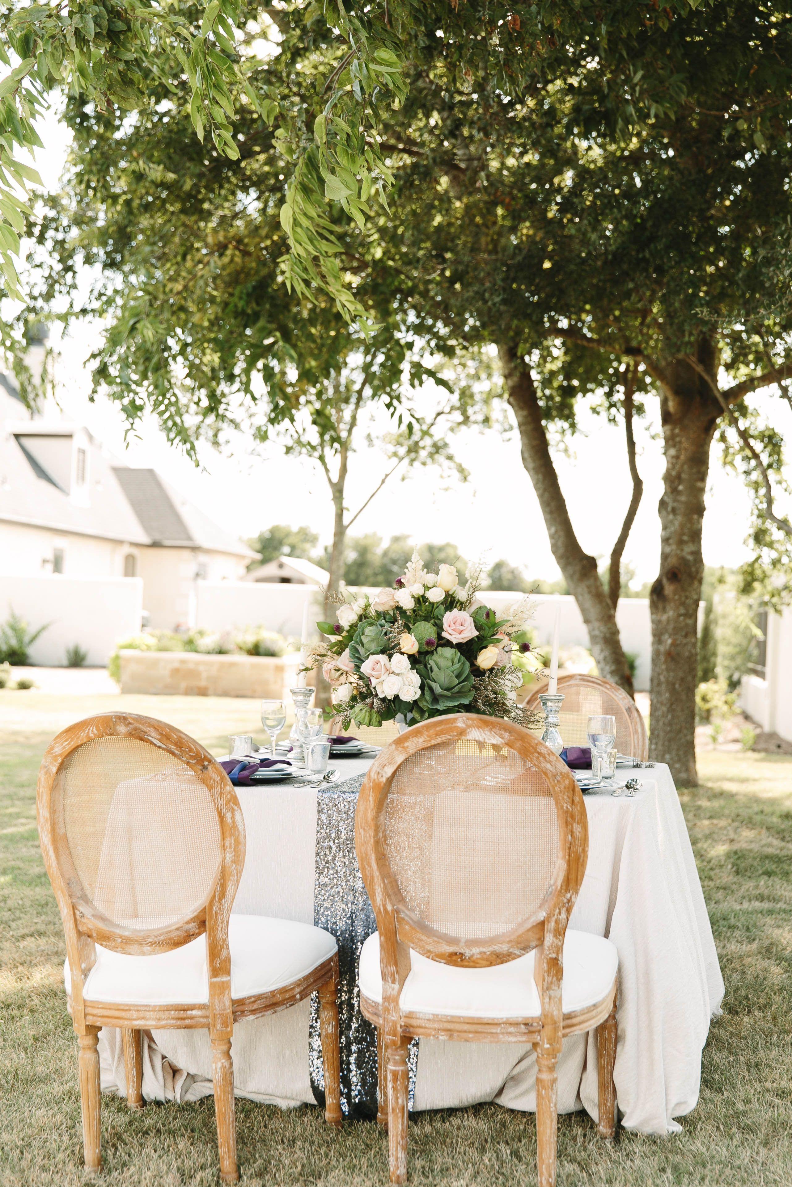 Pretty Purple Fall Wedding Ideas Intimate Wedding Reception