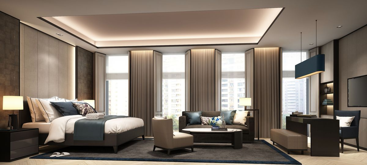And Guessing NB These Are Renderings Of The New Edition Gurgaon Same Style As For Sanya Sleek Understated Luxury