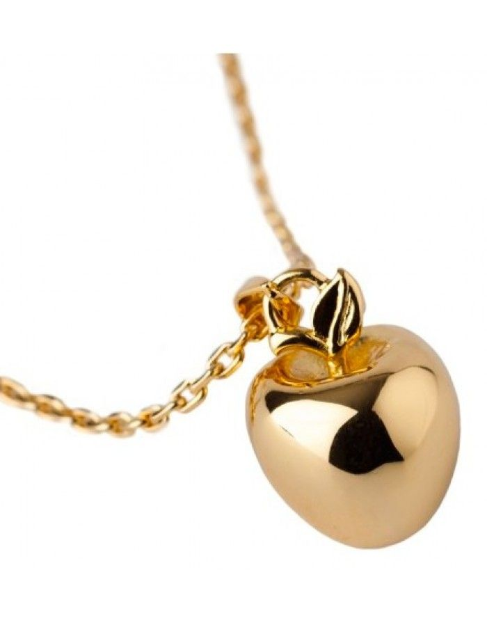 Love hearts and crosses disney couture snow white gold poison love hearts and crosses disney couture snow white gold poison apple charm necklace quirky fashion jewellery and accessories mozeypictures Image collections