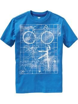Boys Blueprint-Graphic Tees | Old Navy