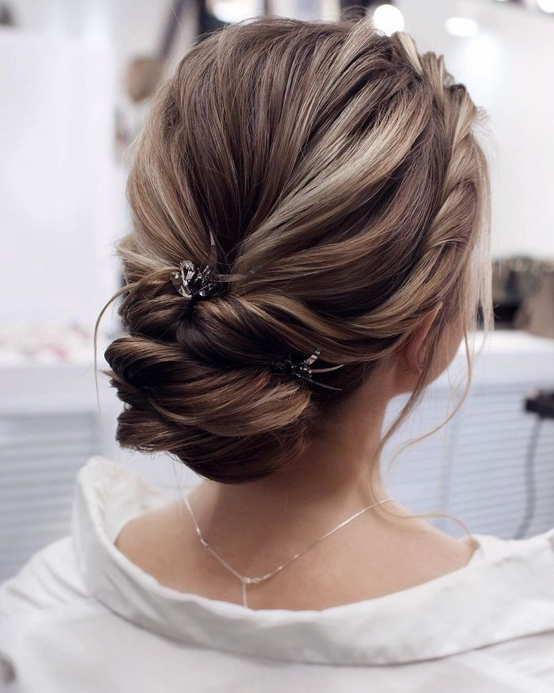 Beautiful Wedding Updo Pinterest Jonida Ripani Chic Classic Fashion Couture Hairstyle Messy Updo Wedding H Hair Styles Long Hair Styles Messy Hair Updo
