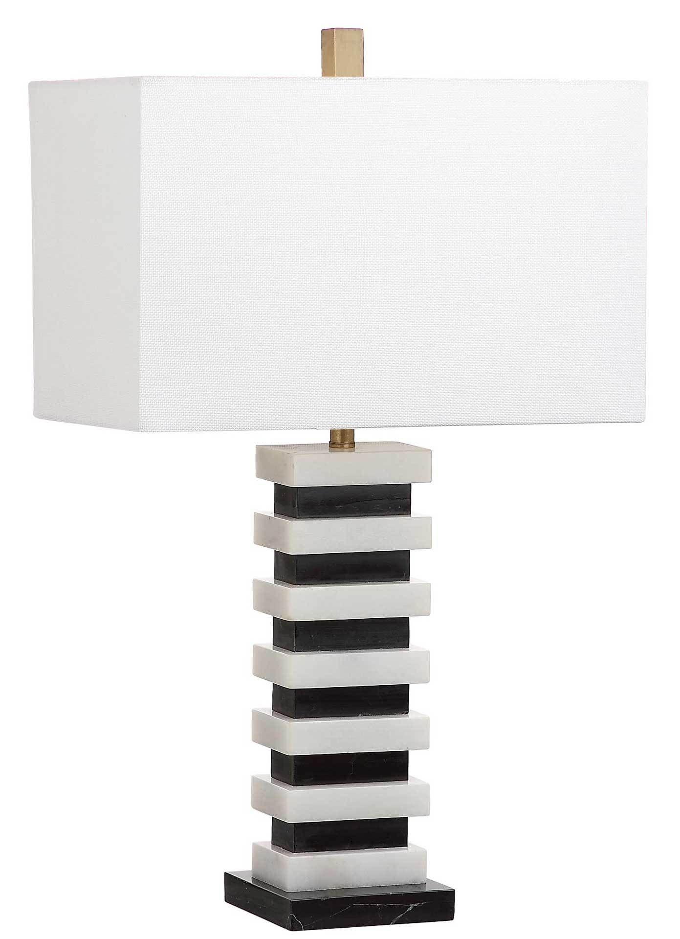 Hugo Marble Table Lamp Black White Black Table Lamps Table Lamp