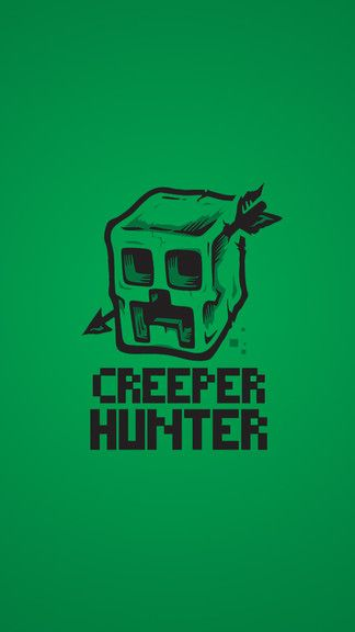 Creeper Hunter IPhone 5S SE Wallpaper