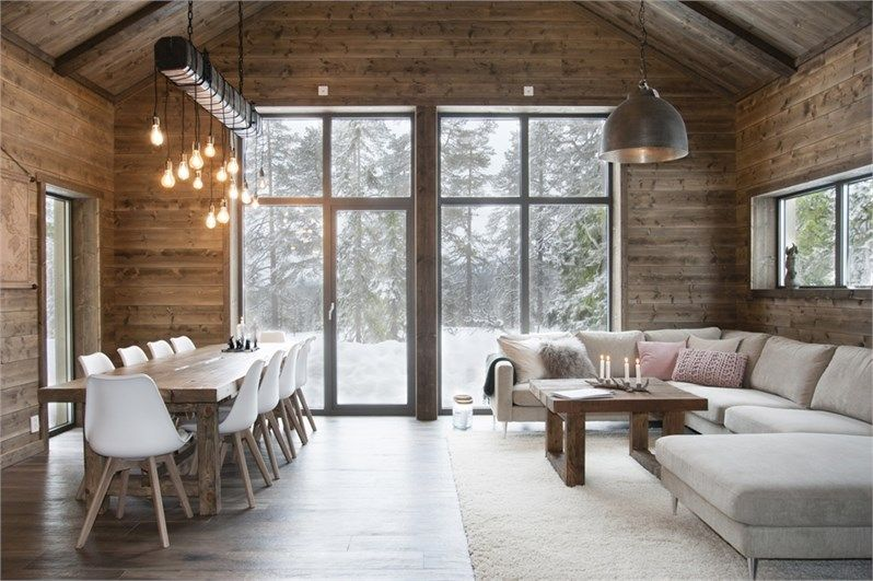 Photo of A chalet in the mountains in Sweden – PLANETE DECO a homes world