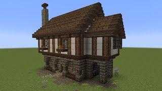 Minecraft Tutorial Mittelalter Haus Deutsch Video VideoMIX - Minecraft mittelalter haus schematic
