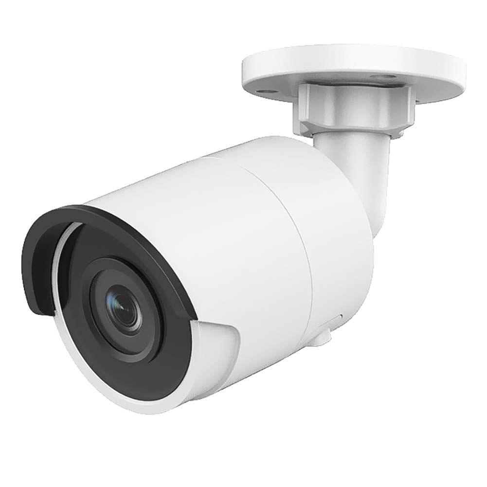Ultrahd 4k 8mp Poe Turret Ip Camera Outdoor 4mm Lens 3840 2160 98ft Night Vision H 265 Ip67 In 2020 Home Security Home Security Systems Best Security Cameras