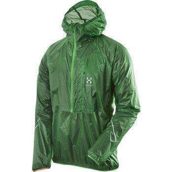 Image of Haglöfs L.I.M Wind Pull Jacket - 2AJ ginko green
