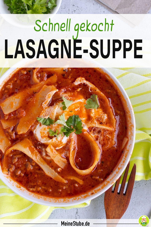 lasagne suppe die einfache und schnelle lasagne
