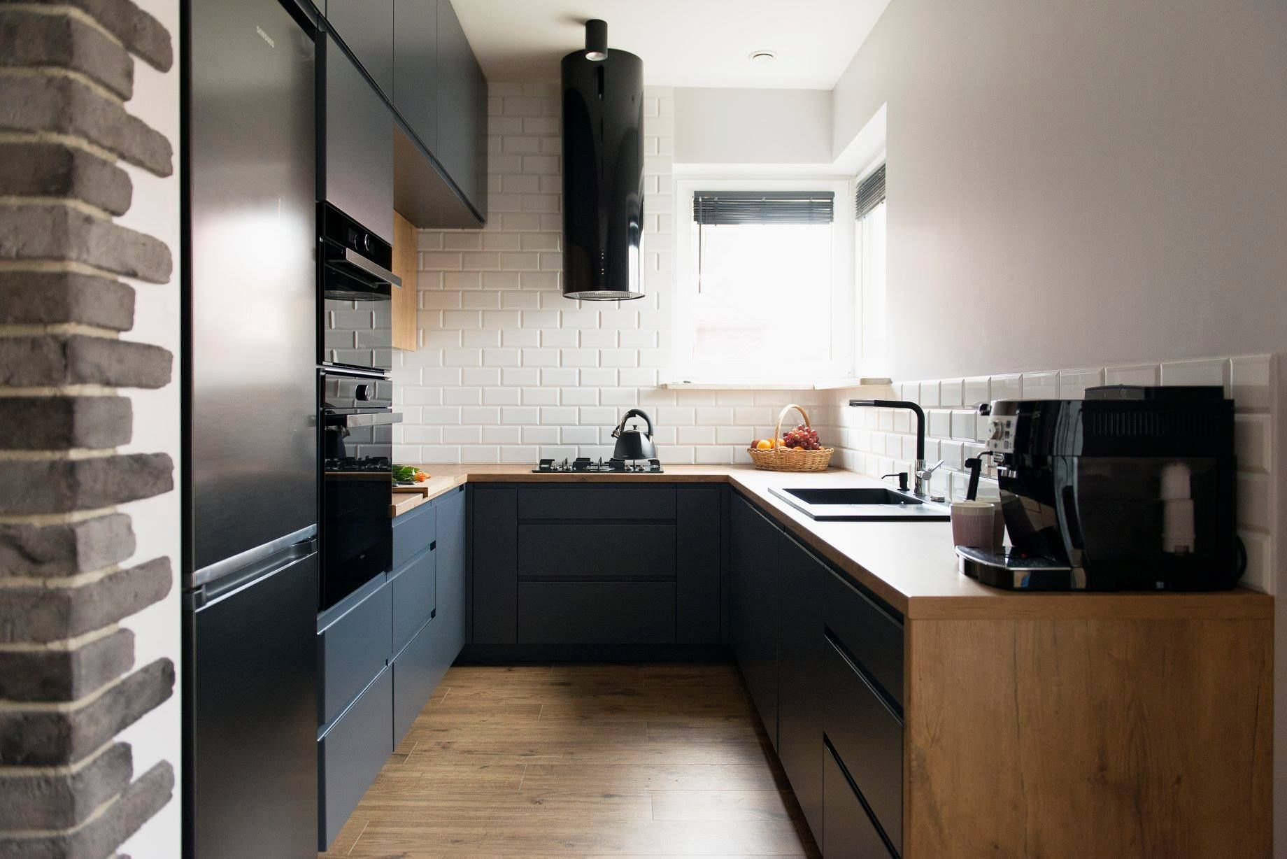 Okap Kominowy Cylindro Or Black Nortberg In 2021 Home Decor Kitchen Home