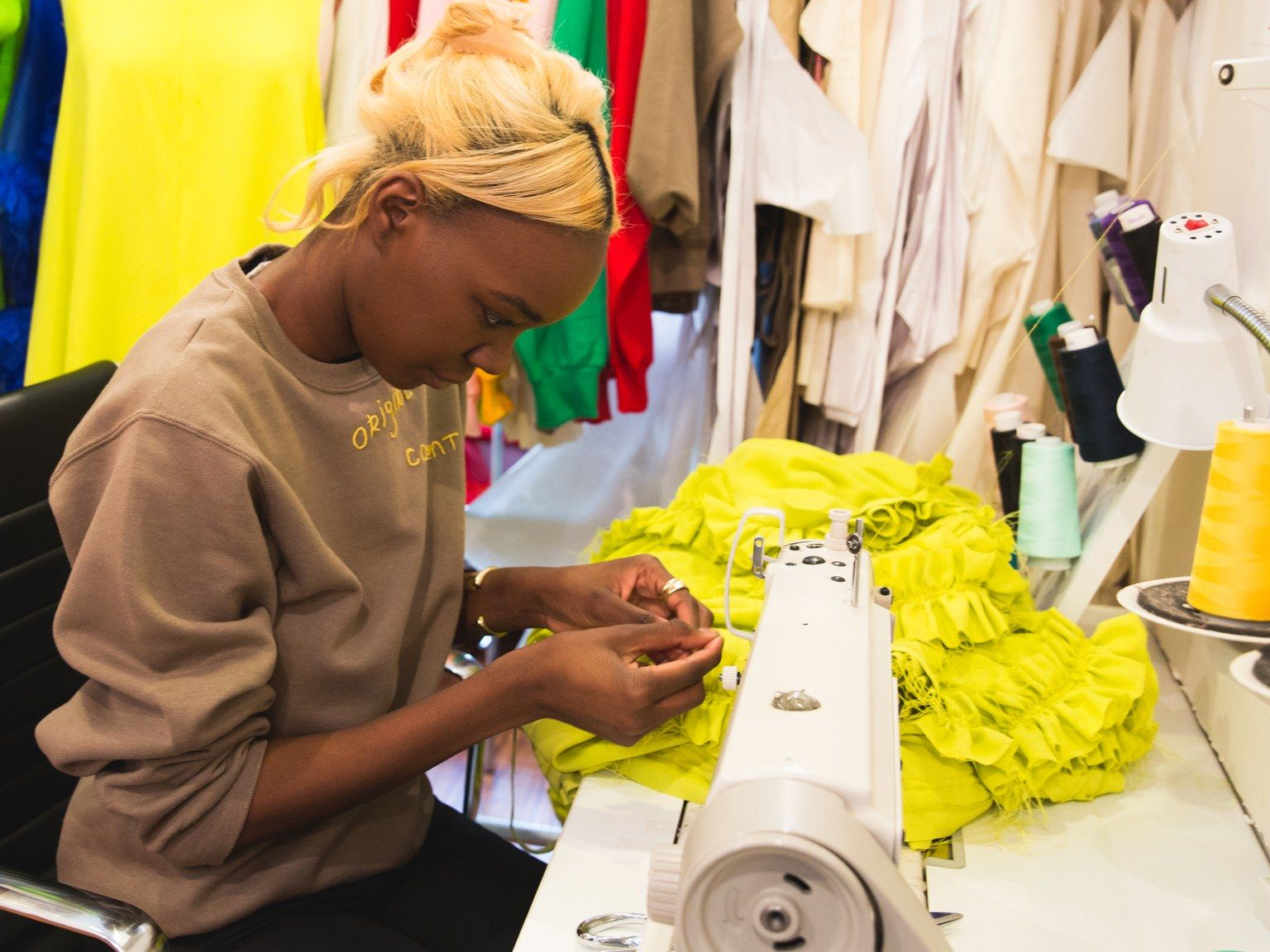 As Fashion Month Ends Meet A Designer Who Wants No Part Of It And Is Making It Work Fashion Designer Models Black Fashion Designers Young Designers