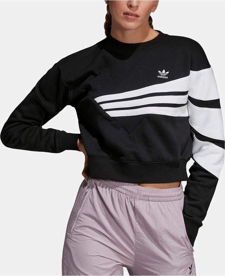 247017c2 adidas Bossy 90s Cropped Sweatshirt | Products in 2019 | Adidas ...