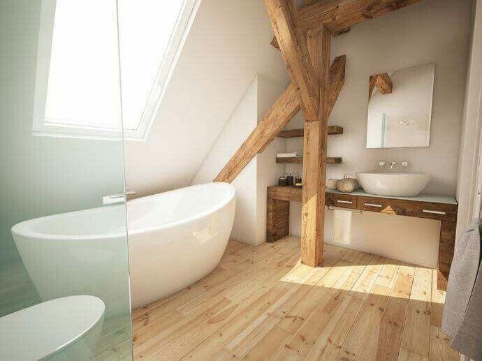 Inrichting Badkamer Vloer : Hout in de badkamer is zeer goed mogelijk tida parket badkamer
