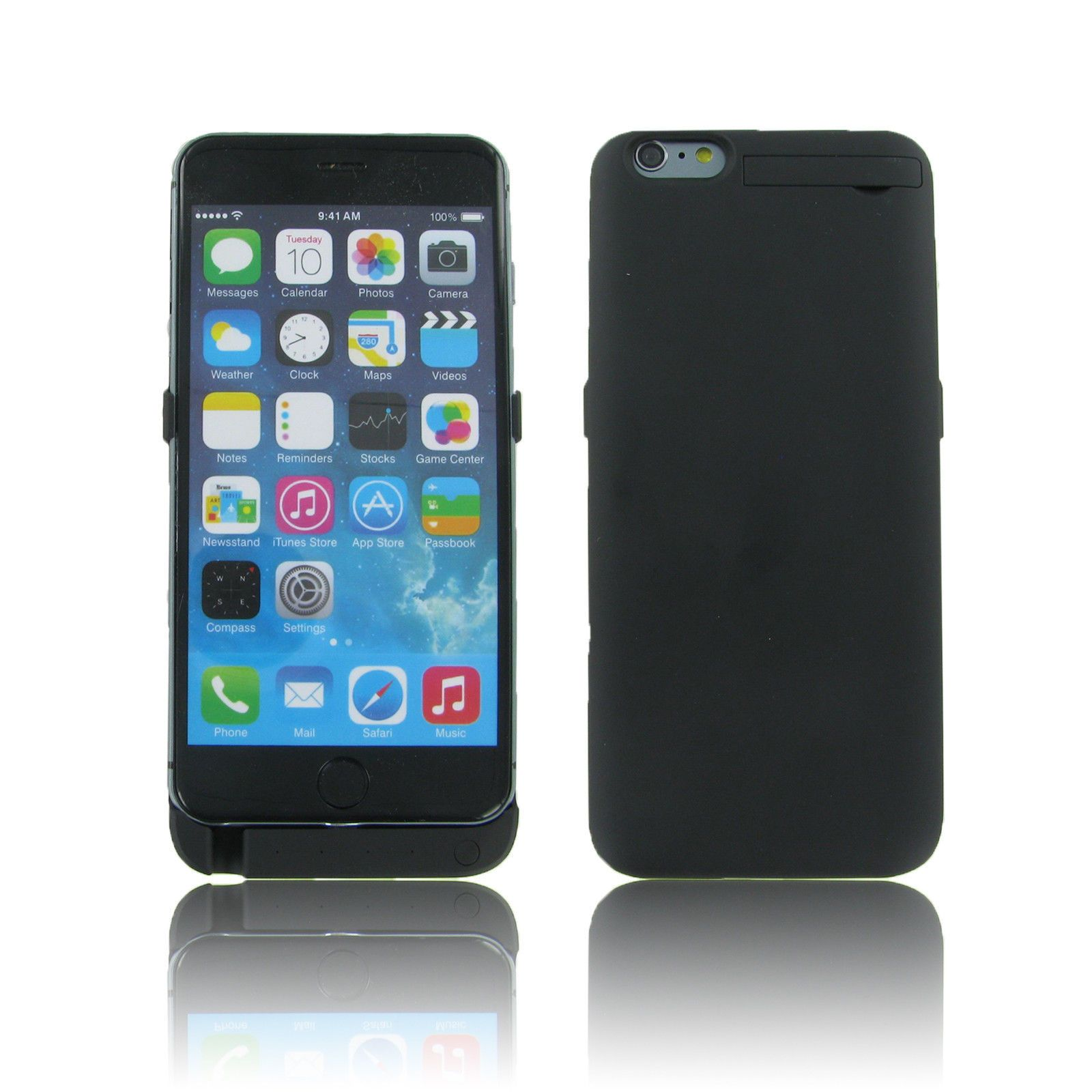 Battery Charger Backup Power Case For Iphone 6S 6 Plus Black 4200 Mah Power ebay Electronics