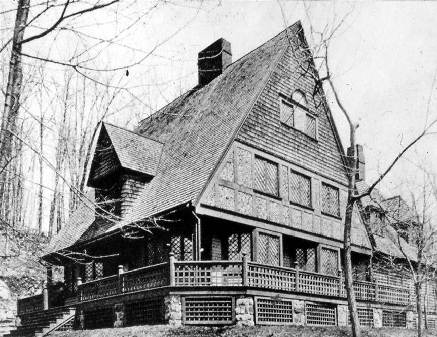 NY Tuxedo Pk Bruce Price Chanler Cottage   Modernist architects ...