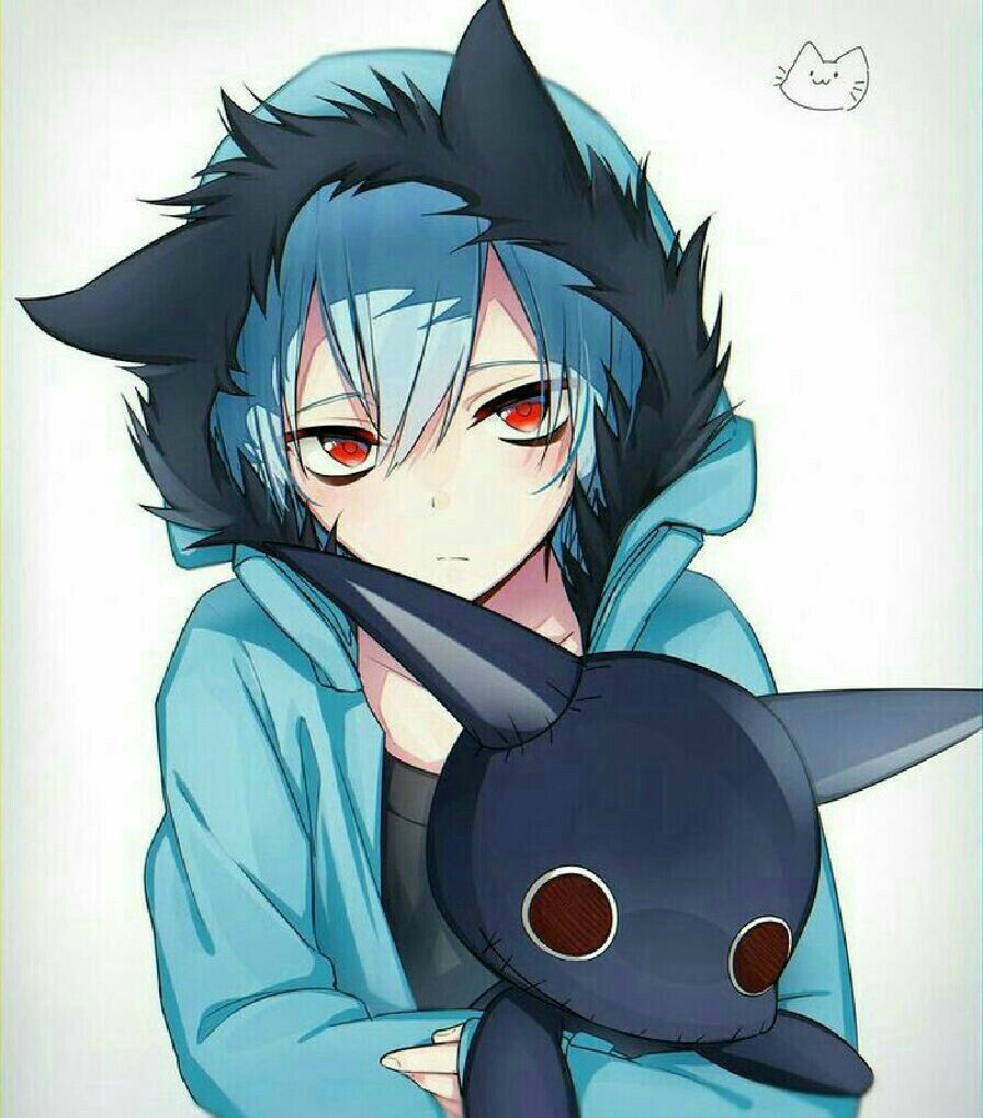 Pin by Em on Sleepy ash Anime, Anime neko, Cute anime guys