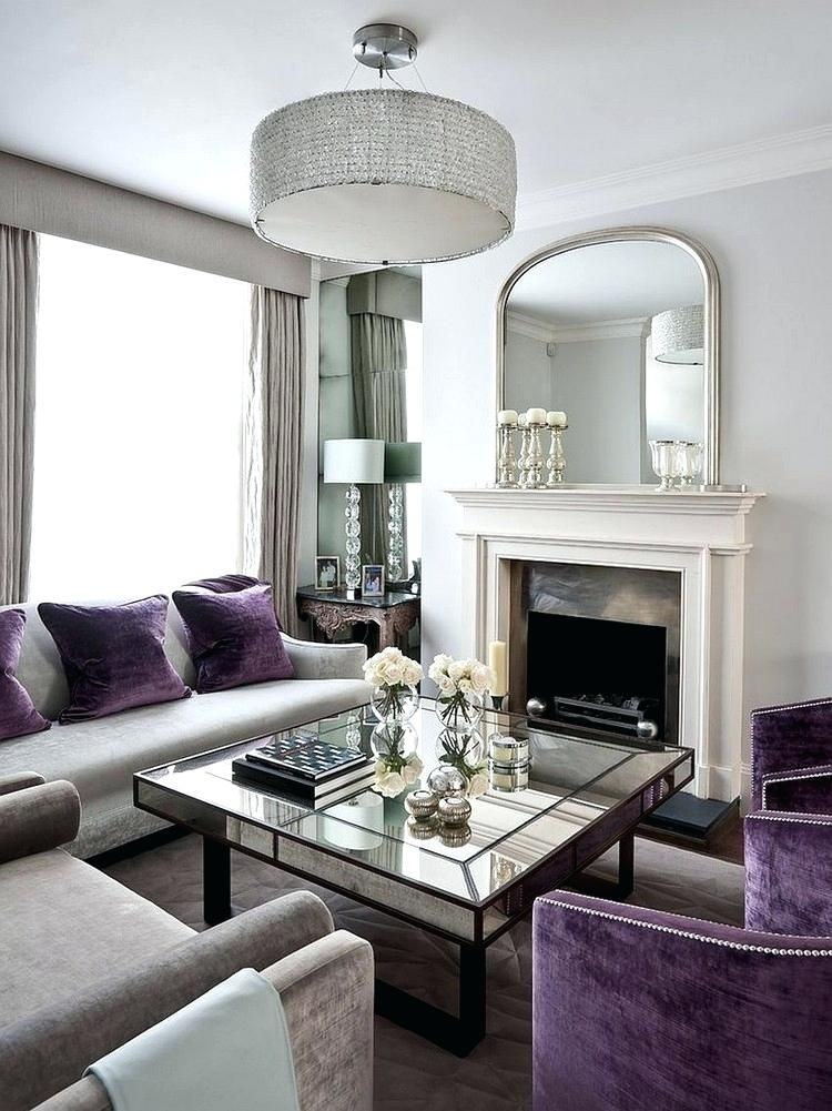 Pin By Nadia Al Kalawi On Home Sophisticated Living Rooms Purple Living Room Elegant Living Room