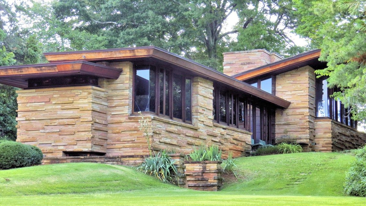 Frank Lloyd Wright Seamour Shavin House Frank Lloyd Wright Homes Frank Lloyd Wright Architecture Usonian Architecture