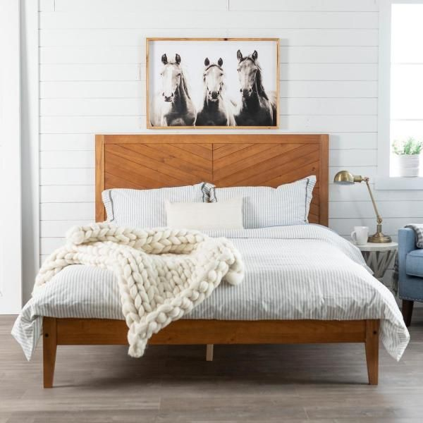 Walker Edison Furniture Company, Solid Wood Queen Bed