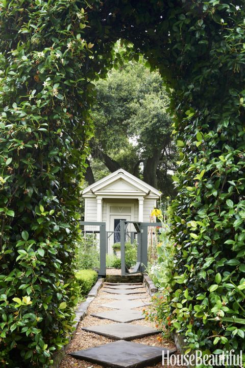 a touch of magic is hiding in this enchanting lake house garden pathsgarden shedsgarden - Garden Sheds Florida