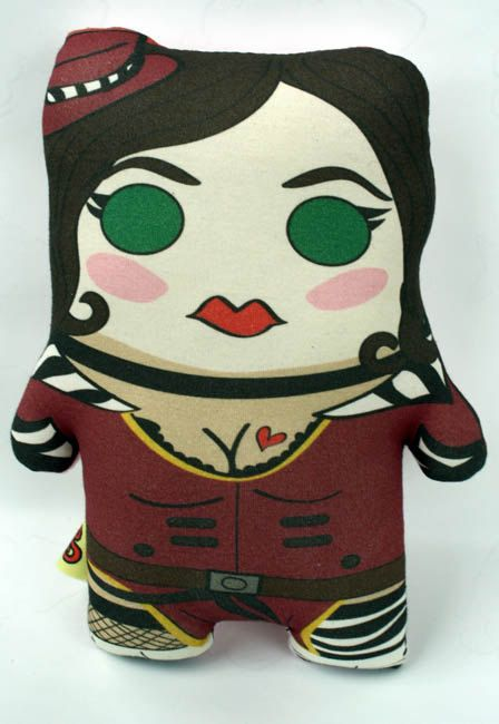 Mad Moxxi Inspired plush by Cyberscribe on Etsy