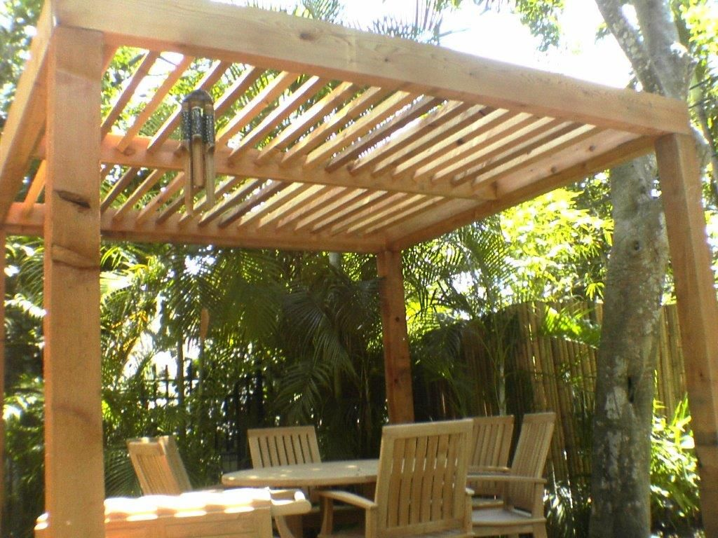 Image Result For Pergola Angled Rafters Wooden Pergola