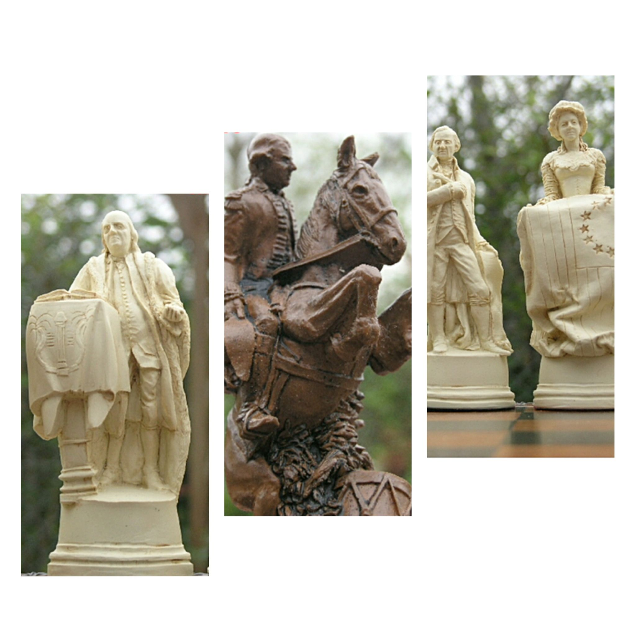 A Lesson In History With This Theme Chess Set The