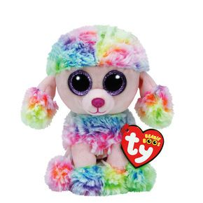 8dd7e95caba TY Beanie Boo Small Poofie the Poodle Soft Toy