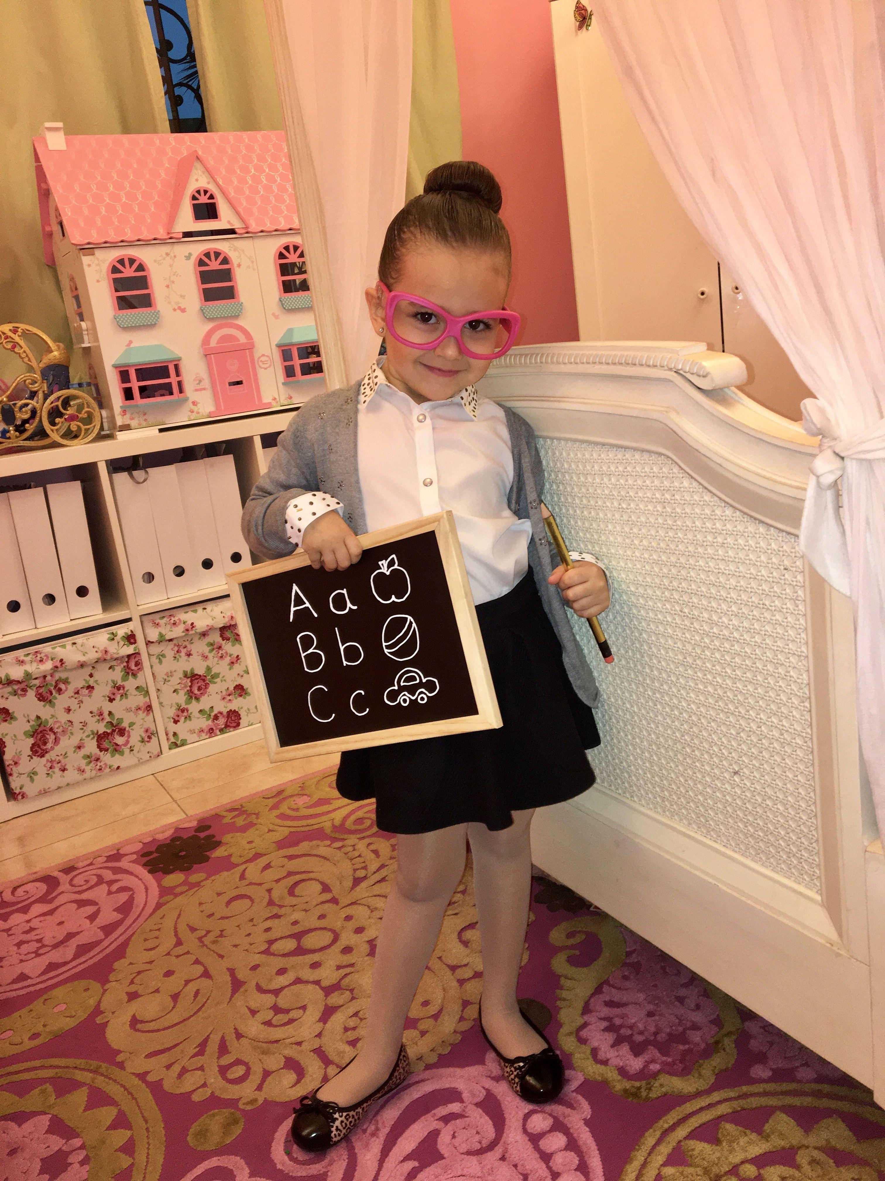 Happily Henninger: Teacher Costume easy costume, career day ...