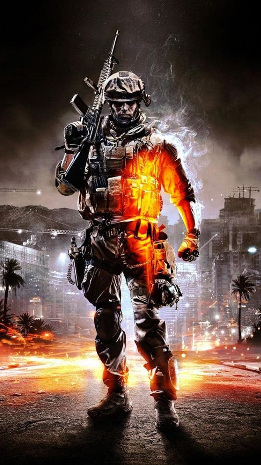lock screen call of duty wallpaper phone