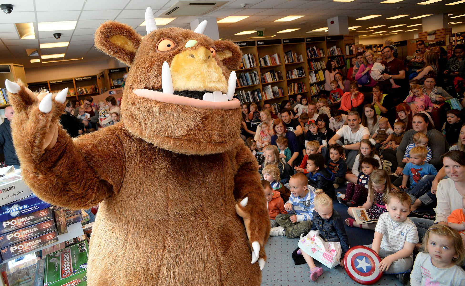 Hire a Gruffalo   Mascot Costume