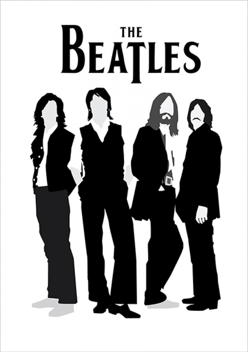 Poster The Beatles Png 1000 1416 Musisi Seni Musik Selebritas