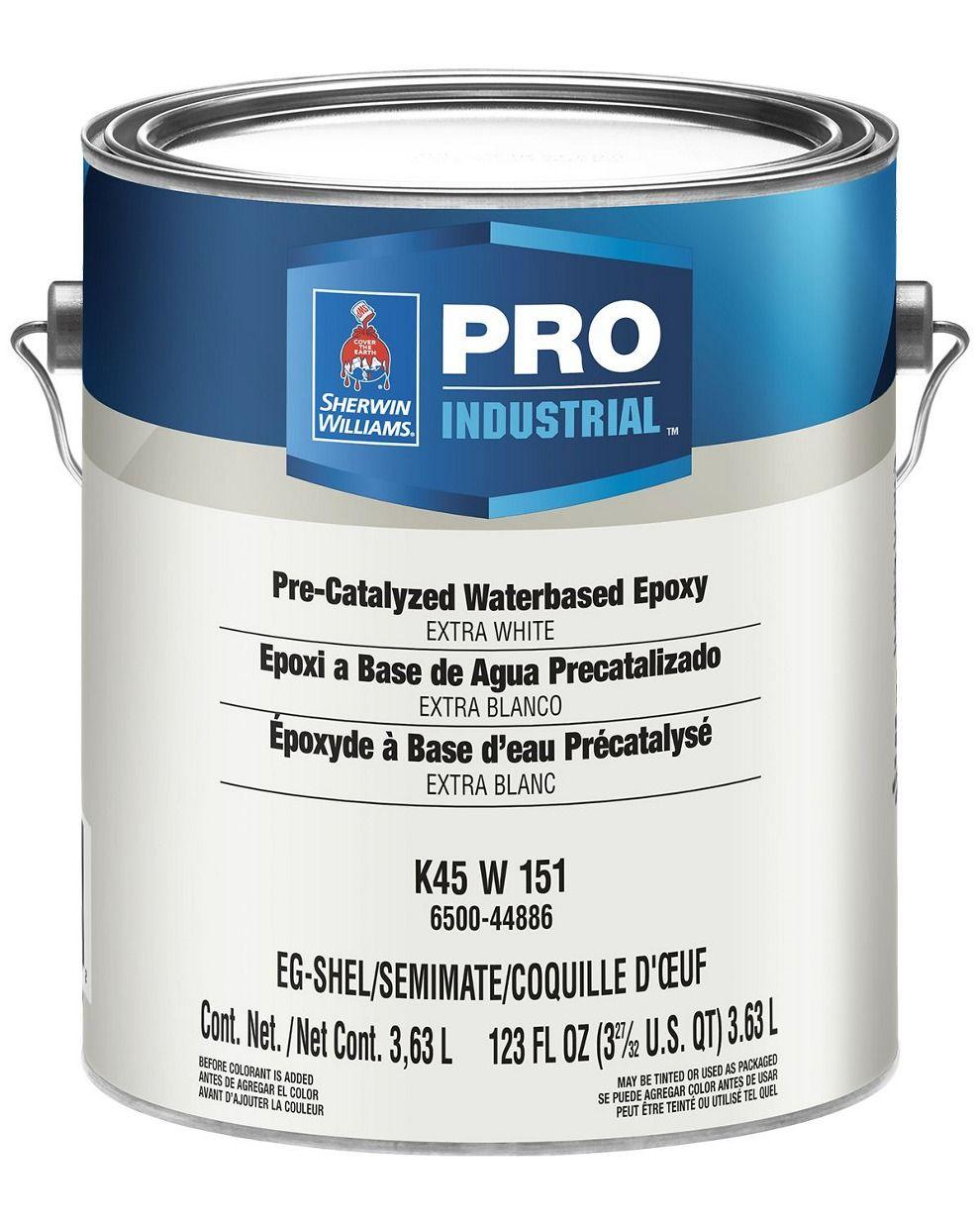 Pro Industrial Pre Catalyzed Water Based Epoxy Sherwin Williams Acrylic Primer Sherwin Williams Sherwin