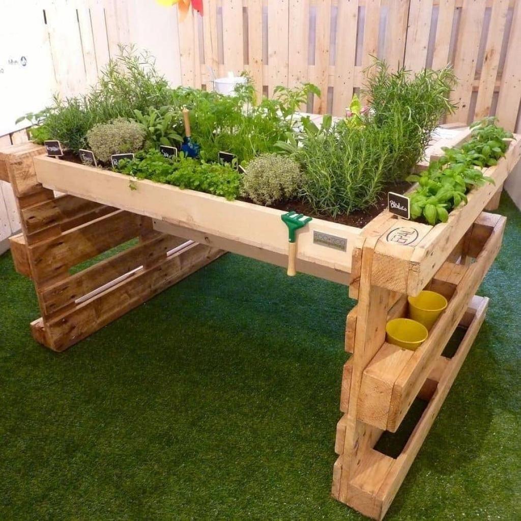 18++ Deco jardin avec palettes bois trends