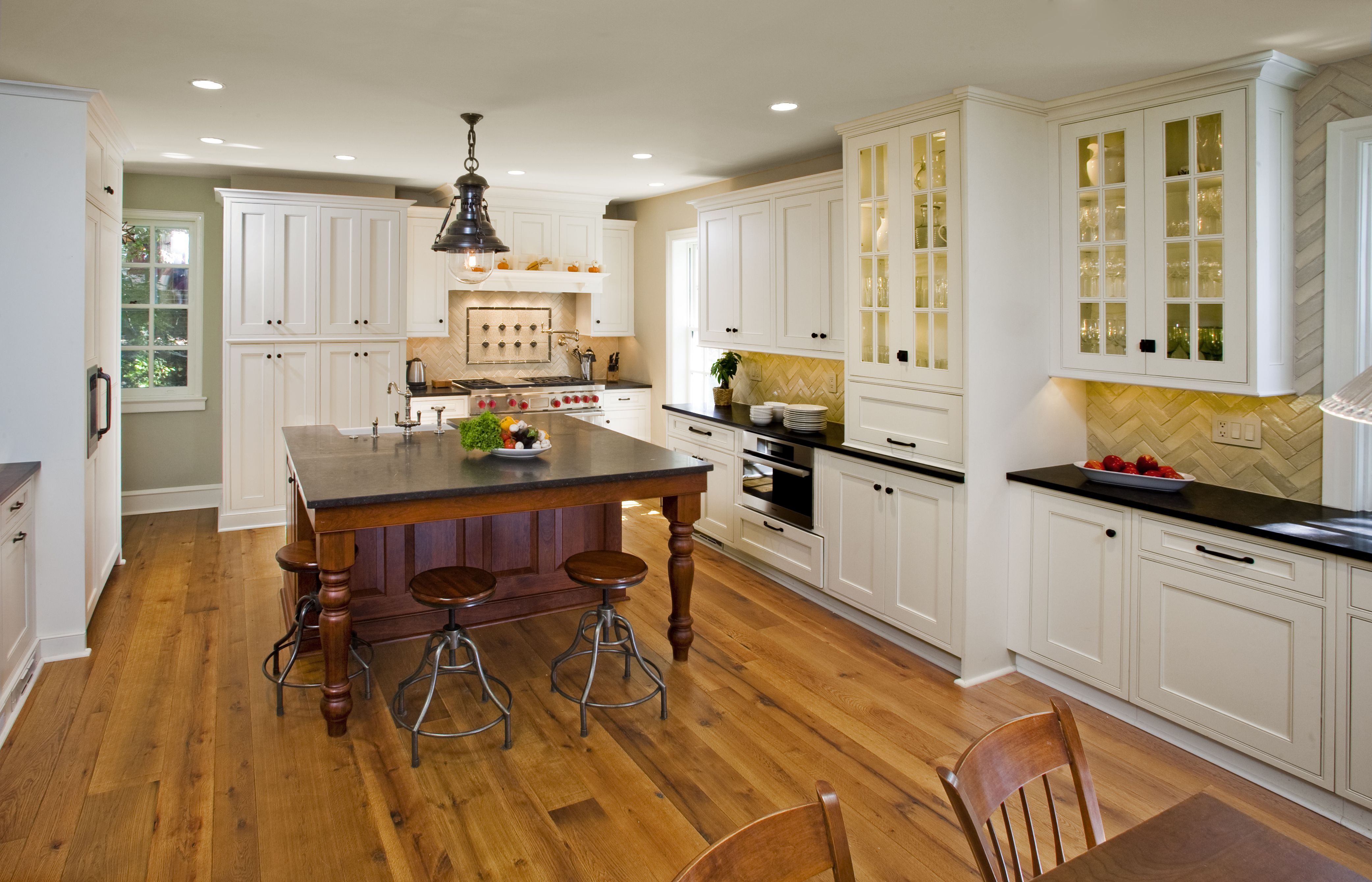 Kitchen cabinets with tigerwood floors - 49 Contemporary High End Natural Wood Kitchen Designs Marble Countertops Wood Flooring And Open Kitchens