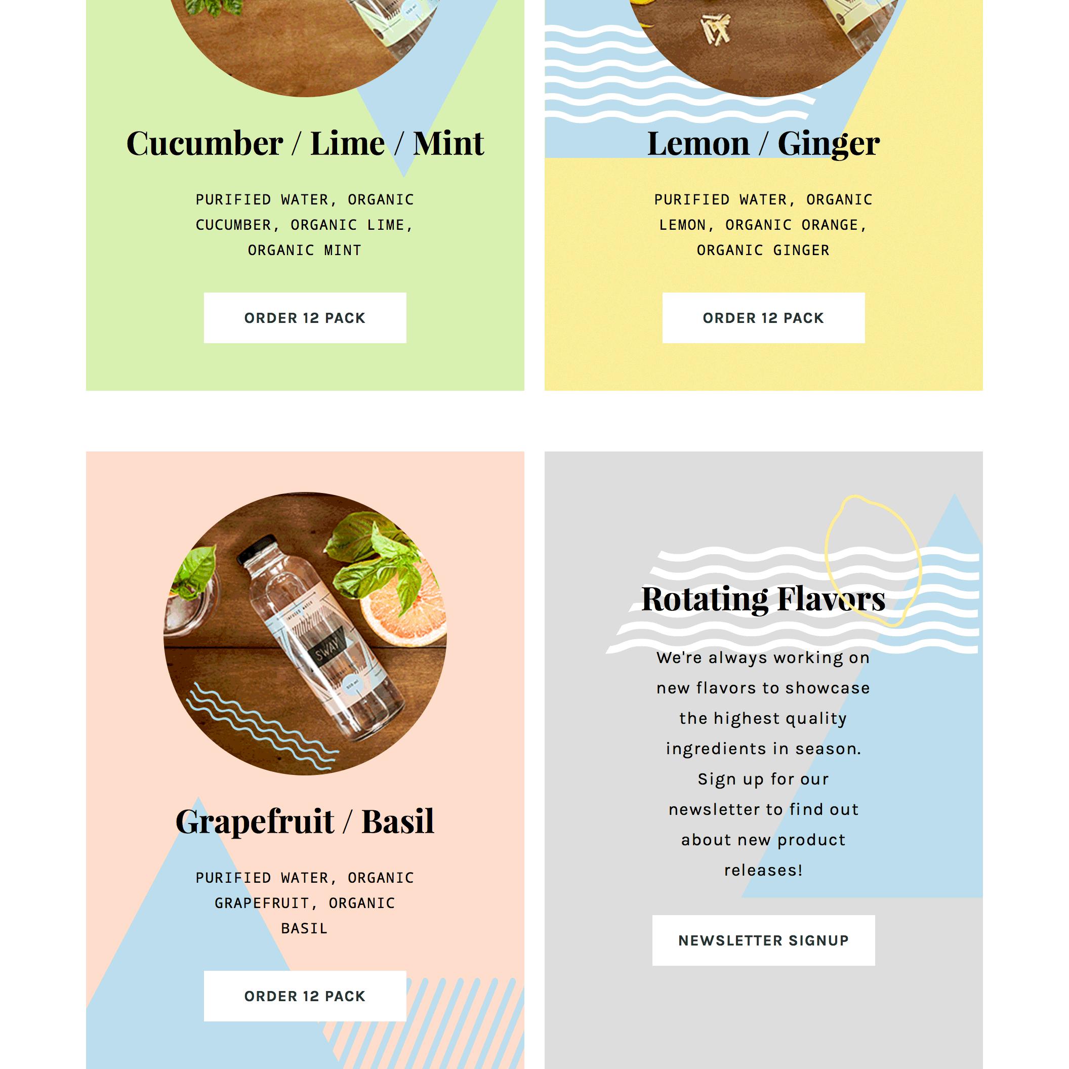 Fonts Used: Playfair Display, Droid Sans Mono, Karla, and