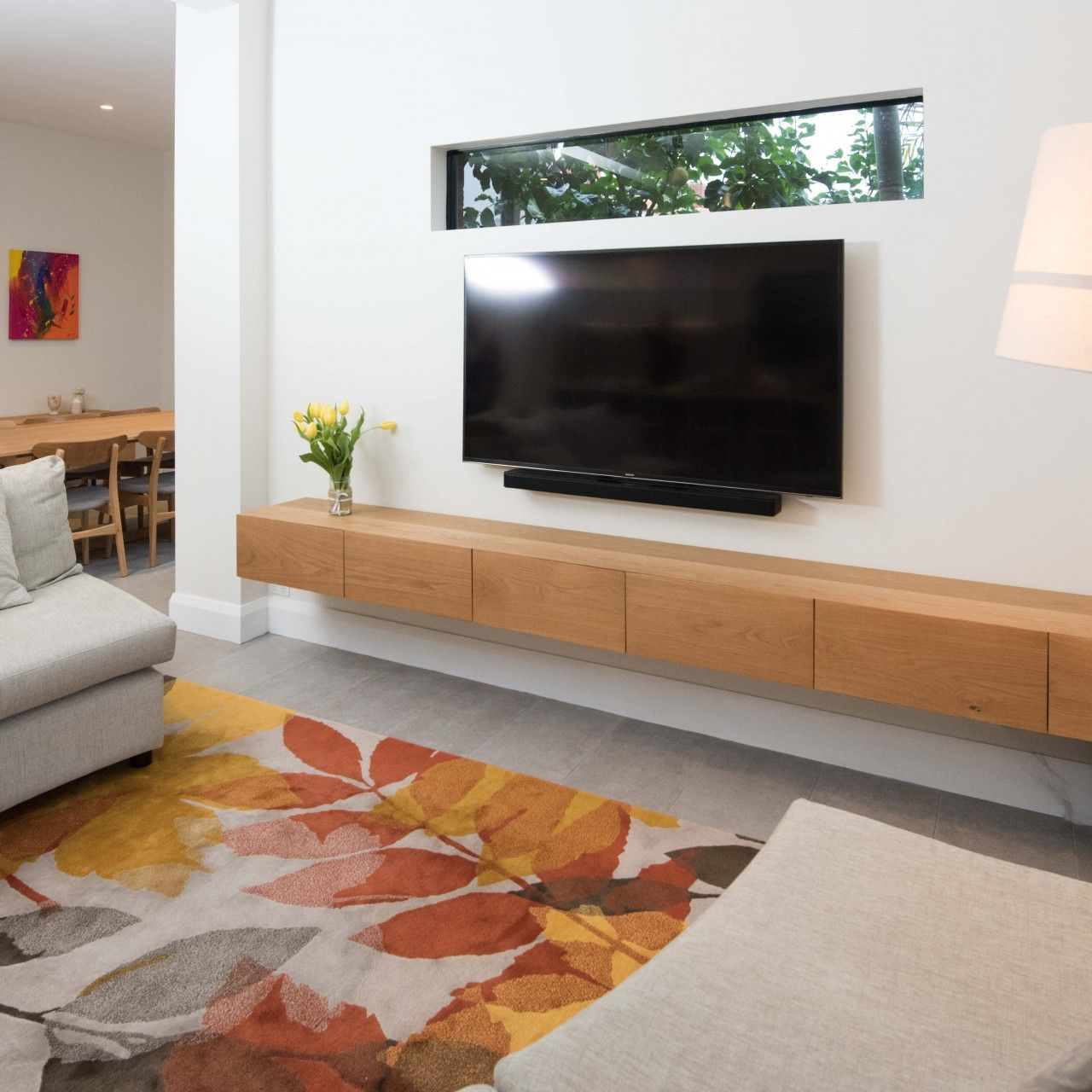 Recoleta Floating Entertainment Unit B A Furniture Tv Units