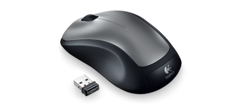 Logitech Wireless Mouse. Simple. Durable. Perfect. Stop overthinking your tech. Stop trying to show off with your tech. Just get what you need.
