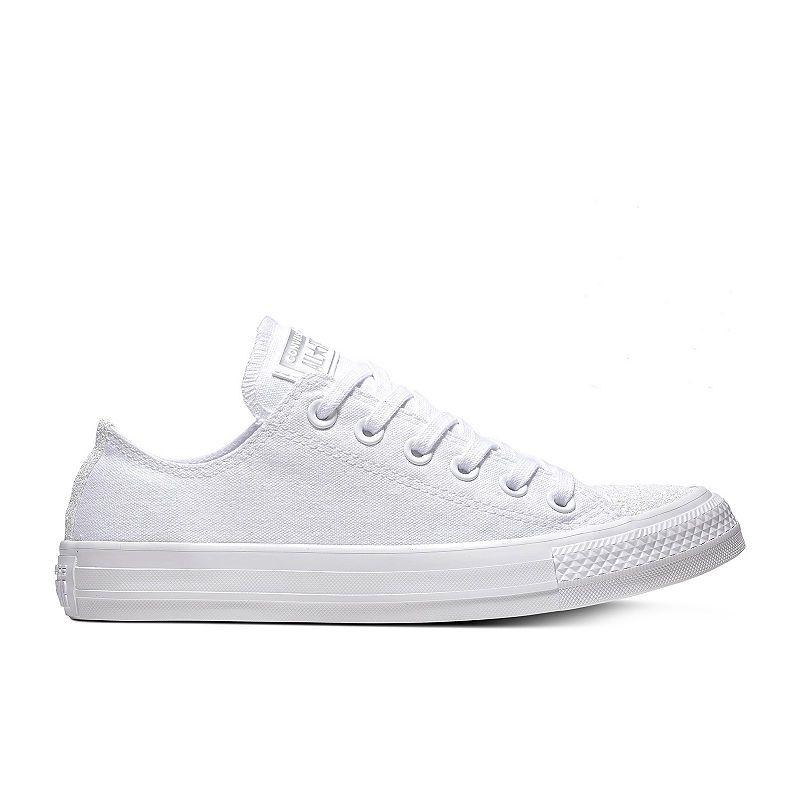 5ac51318f4ba Converse Chuck Taylor All Star Ox Womens Glitter Toe Sneakers in ...