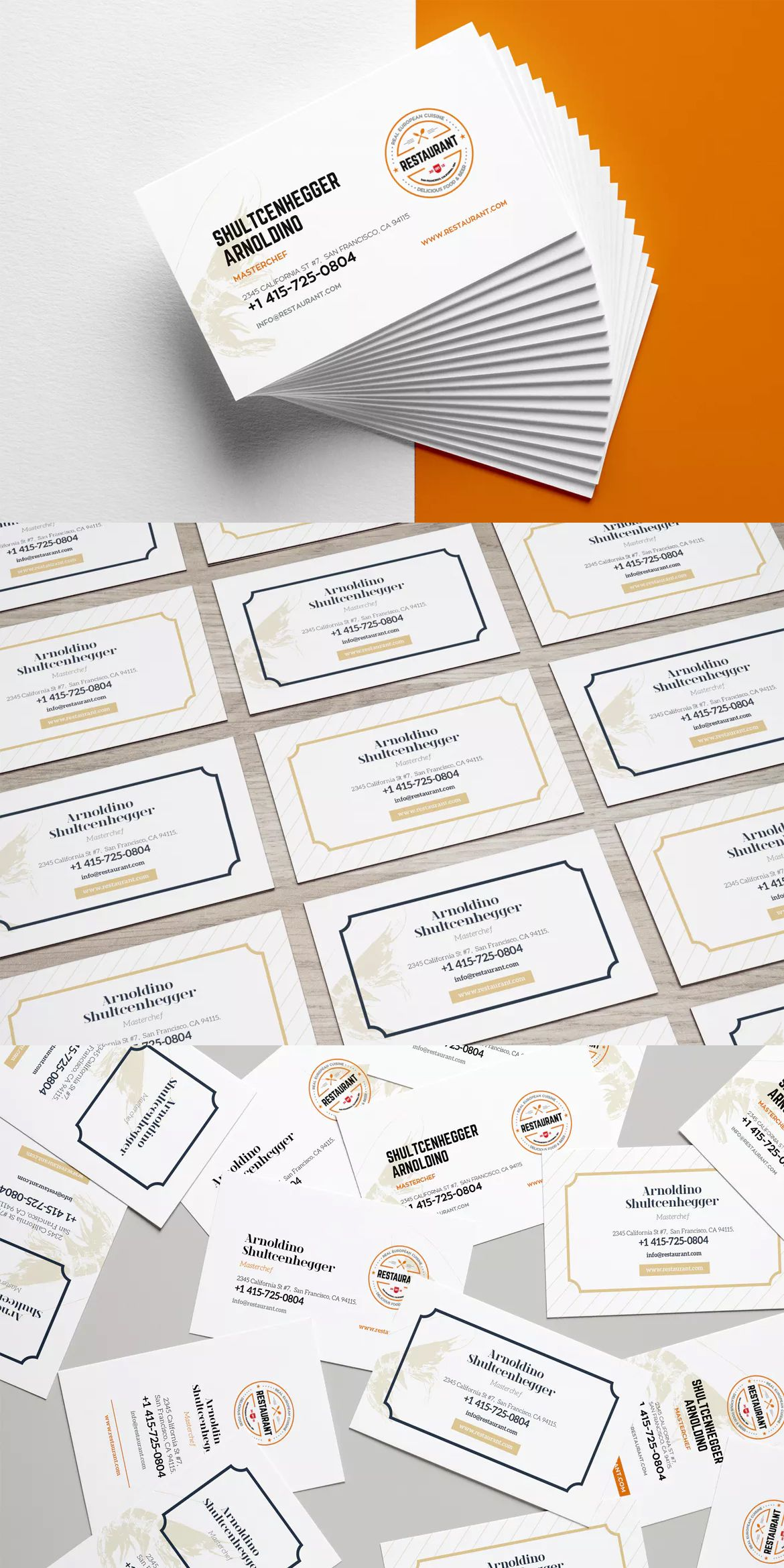 restaurant business card template ai eps business card templates