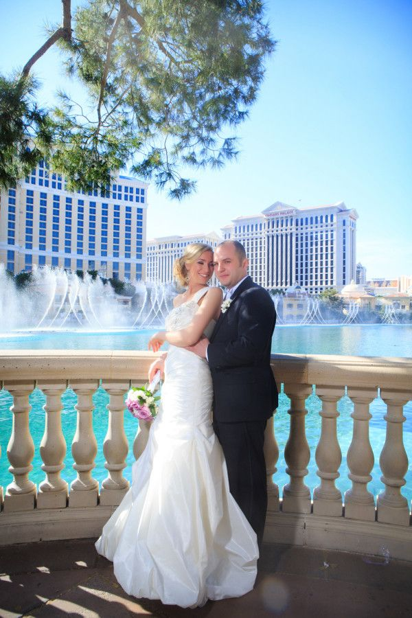 Anastasia and Vitaliy\'s Vegas Elopement at T.I. from Taylored Photo ...