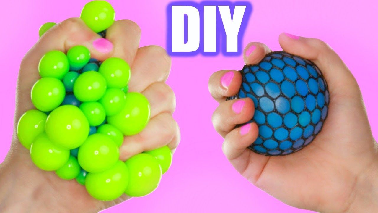diy super cool squishy stress ball how to make the. Black Bedroom Furniture Sets. Home Design Ideas