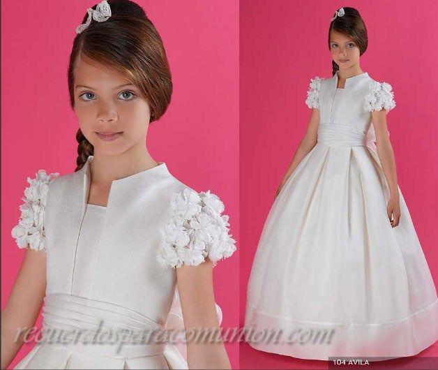 Imagenes de vestidos para hacer la primera comunion