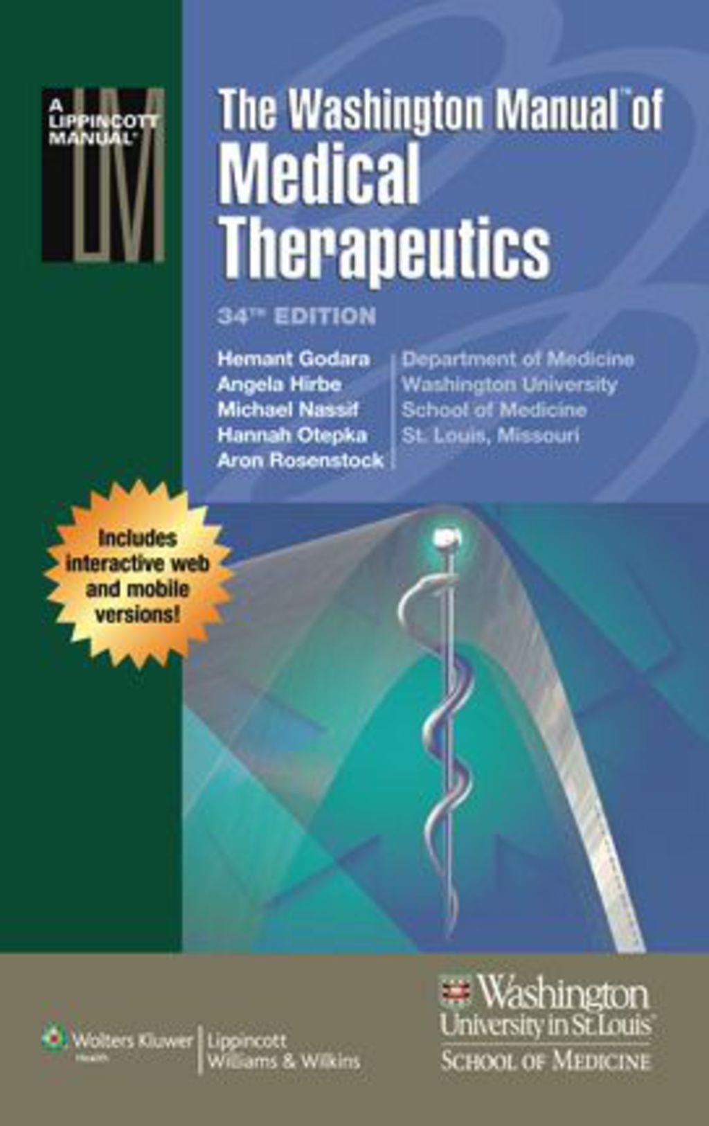 The Washington Manual of Medical Therapeutics (eBook