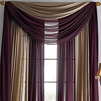 Love The Color Blending Of The Curtains (though Not This Color). Love How · Living  Room ... Part 69